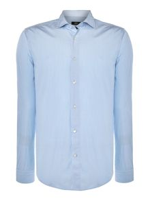 Ridley Slim fit dobby stripe shirt