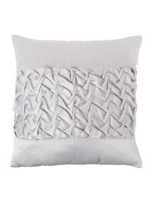 Ruffle Silver Direct Coord Cushion