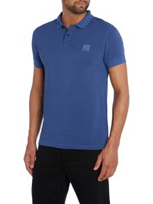 Pascha Slim Fit Logo Polo Shirt