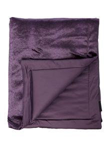 Kylie Minogue Lorenta Amethyst Direct Coord Throw 140x220cm