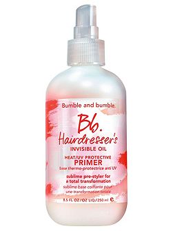 Hairdressers Invisible Oil Primer 250ml