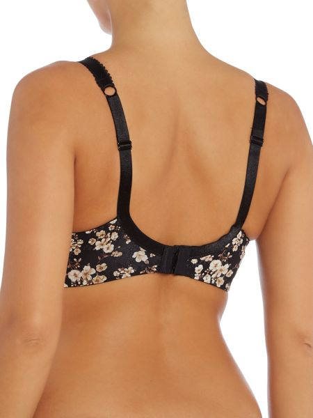 Marie Meili Daisy floral underwired bra