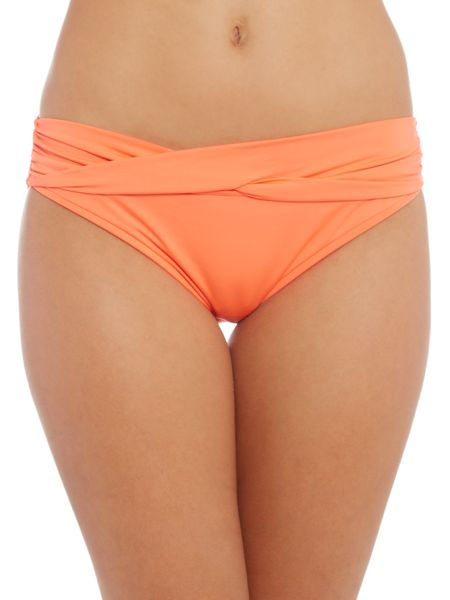 Seafolly Twist band hipster bikini brief