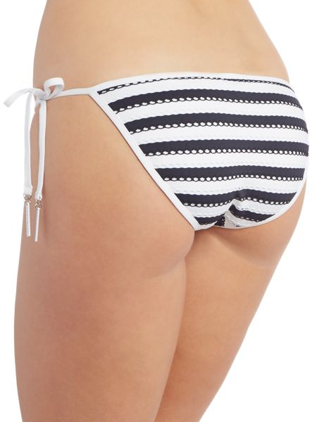 Seafolly Coast To Coast Hipster Tie Side Brief