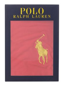 Polo Ralph Lauren Solid gold pony trunks