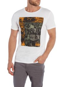 Hugo Boss Regular Fit moped printed T-Shirt