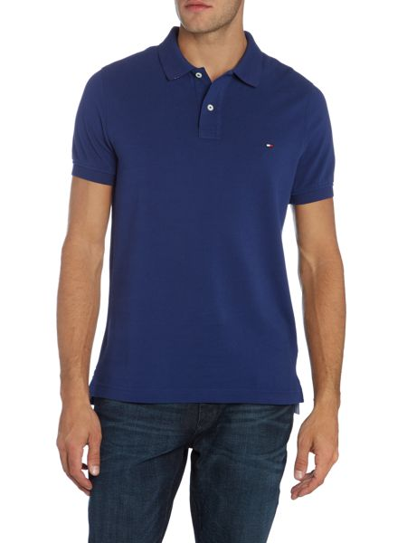 Tommy Hilfiger Slim Fit Short Sleeve Polo Shirt