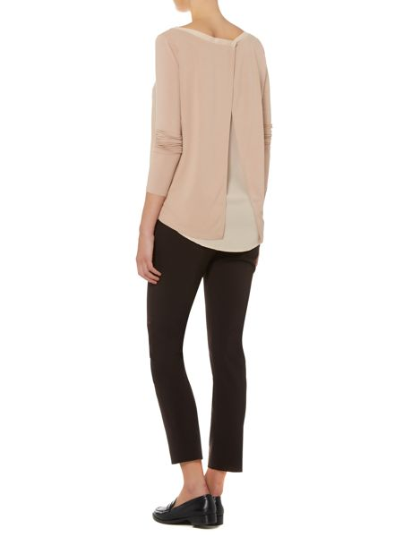 Marella Necklace top with split back
