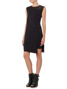 Label Lab Hitch burnout washed jersey dress