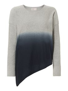 Label Lab Dip dye asymmetric jumper