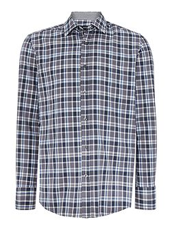 Men's Hugo Boss Lukas Classic Fit check shirt