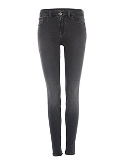 High rise skinny jean in new core grey
