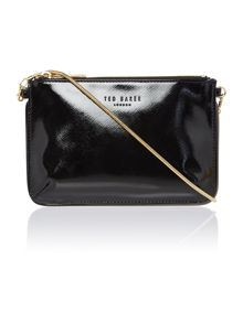 Reta black cross body bag
