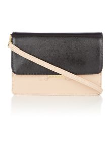 Mariann taupe cross body bag