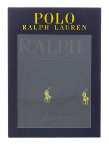 Ralph lauren polo logo plain trunks