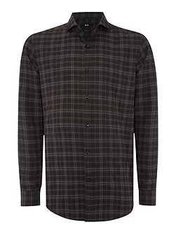 Men's Hugo Boss Lennie Check Classic Fit Long