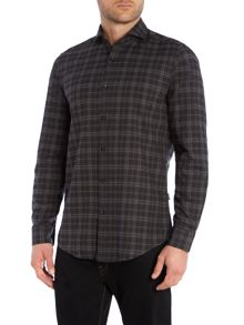 Hugo Boss Lennie Check Classic Fit Long Sleeve Classic Coll