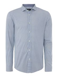 Ridley Slim fit dot print shirt