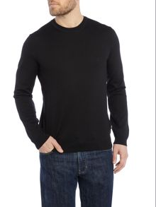 Bagritte virgin wool crew neck jumper