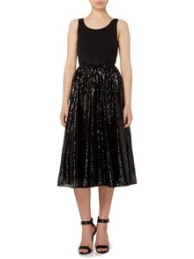 Michael Kors Sequin midi full skirt