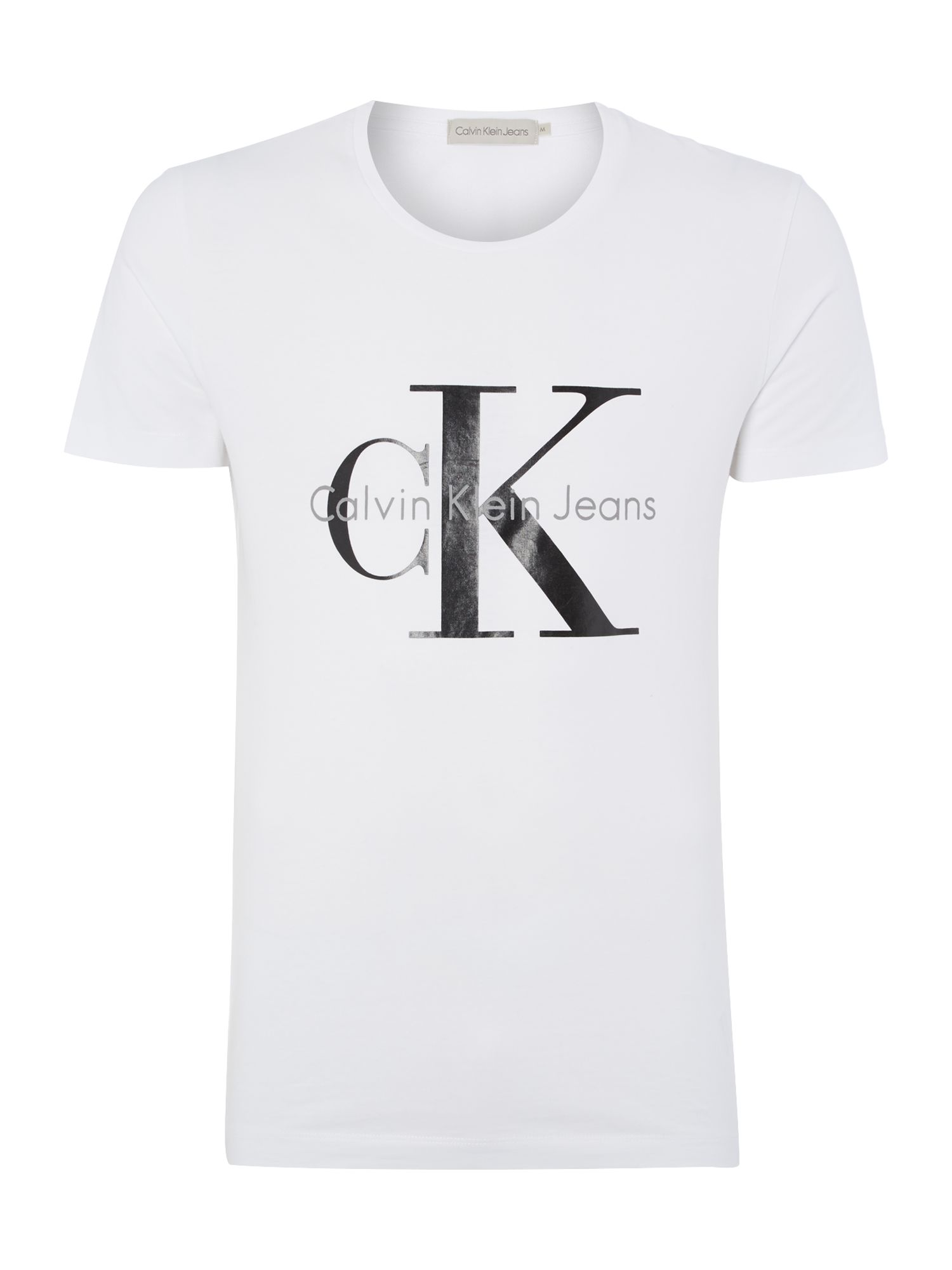 Men's Calvin Klein TEE T-Shirt, White