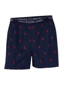 Ralph lauren Pony logo printed Woven Brief