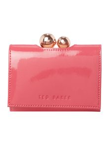 Ottlan pink small patent flap over purse