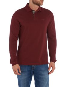 Long Sleeve Sports Polo Shirt