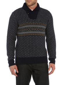Barbour Baker Shawl Neck Jumper