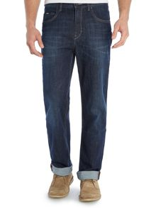 Alabama Loose Comfort Fit Dark Wash Jean