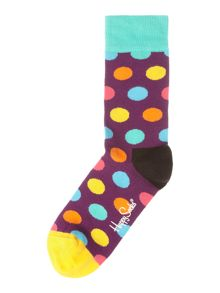 Happy Socks Big Dot Print Sock