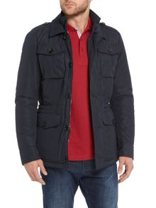 Colten Casual Showerproof Full Zip Field Jacket