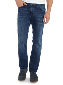 Delaware Medium Wash Mid Rise Jeans