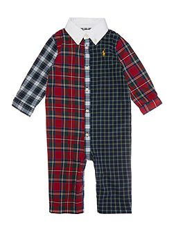 Polo Ralph Lauren Baby boys patchwork tartan all
