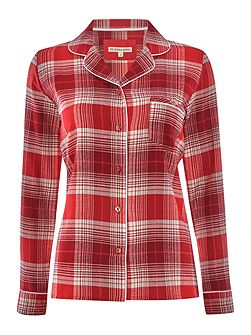 Christmas Check PJ Shirt