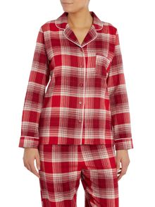 Dickins & Jones Christmas Check PJ Shirt