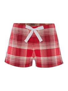 Christmas Check Short