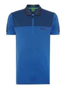 Prek Regular Fit 1/4 Zip Logo Polo