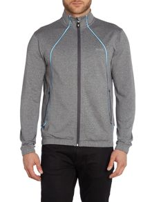 Hugo Boss Skatech Funnel Neck Zip Up Jumper