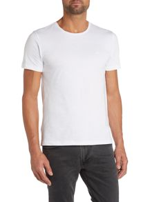 Lecco 80 Plain Crew Neck Slim Fit T-Shirt