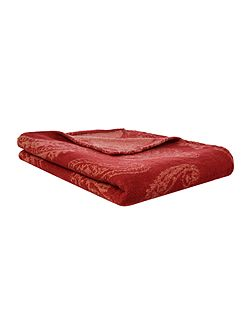 Traveller paisley throw