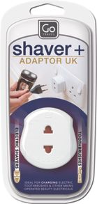 Travel shaver adaptor