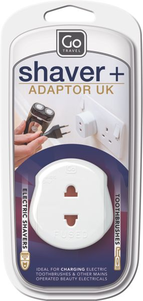 Go Travel Travel shaver adaptor
