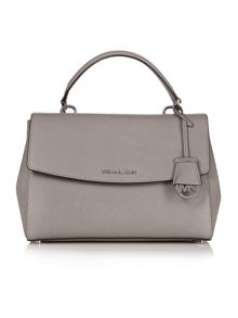 Riley grey slouch tote bag