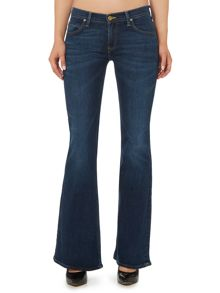 Annetta flare jean in blue notes