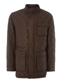 Techno Quilted Coat