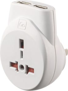 Go Travel Transworld usb adaptor
