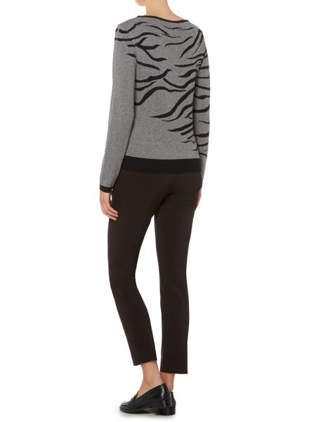 Marella Animal print knitted sweater
