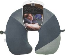 Go Travel Travel memory pillow, assorted colours