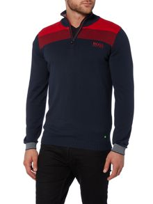 Zelchior Pro Funnel Neck Knitted Zip Up